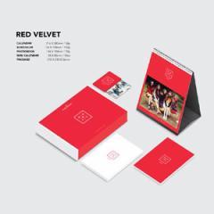 韓国スターグッズ Red Velvet(レッドベルベット) 2016 シーズングリーティング(カレンダー+スケジュール帳 外)+ポスター筒