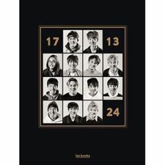 韓国スター写真集 SEVENTEEN(セブンティーン)- フォトブック「17 13 24」 (フォトブック+はがきブック+ケース)(発売日:16.05.16以後)