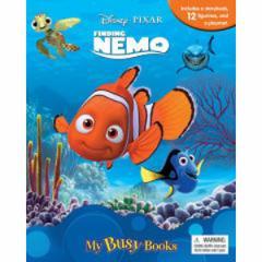 (英語版)海外書籍 「Finding Nemo:My Busy Books(ファインディング・ニモ マイ ビジーブック)」 (本+ミニフィギュア12種)