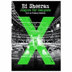 海外音楽 ED SHEERAN(エド・シーラン) - 「Jumpers For Goalposts:Live At Wembley Stadium」Blu-ray (発売日:15.11.13以後)