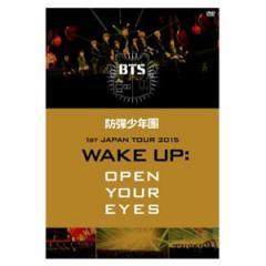 (日本版)防弾少年団(BTS) 1st JAPAN TOUR 2015「WAKE UP:OPEN YOUR EYES」DVD(予約 発売日:2015.05.20以後)