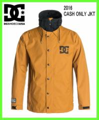 2016 DCshoes CASH ONLY JKT CPB0 ディシースノーボードジャケットCATHAY SPICE-SOLID
