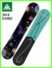 2016 K2 KANDI 141cm ケーツー ロッカースノーボード