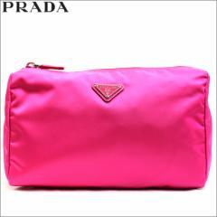 プラダ PRADA コスメチックポーチ 化粧ポーチ vela フューシャ ヴェラ ベラ ピンク アウトレット 1n0012-ve-fuxia