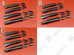 レクサス GS250 GRL11 ブラックメッキドアハンドルカバー ノブ フルカバータイプ 【 WAK-1010-PTM 】LEXUS GS 250 GRL L11 11