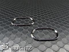 BRIGHTZ ムーヴカスタム L900S L902S L910S L912S ブラックメッキサイドマーカーリング C【 SID-RIN-049 】