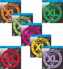 Daddario/ベース弦 XL Nickel Round Wound【ダダリオ/EXL160・EXL165・EXL170・EXL180・EXL190・EXL220・EXL230】