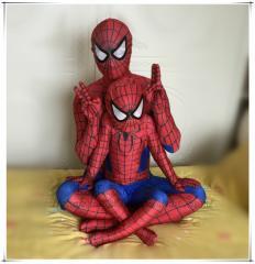 あす楽 即納 スパイダーマン 子供用 大人用 コスプレ衣装 全身タイツ ステージ衣装 ライクラ 弾力 伸縮性 ステージ衣装  コスプレ衣装