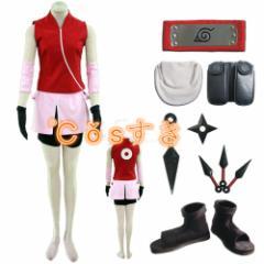 NARUTO ナルト春野サクラ二代目 全セットCOS 高品質 新品 変装 仮装 イベントコスチューム cosplay衣装