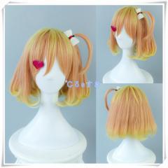 マクロス フレイア・ヴィオン コスプレウィッグ 髪飾り付 COS  高品質  新品  Cosplay  かつら  専用ネット付