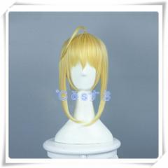 Fate/Zero フェイト・ゼロ Saber  セイバー コスプレウィッグ 高品質  新品  Cosplay  かつら  専用ネット付