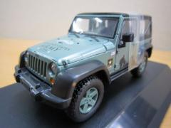 Jeep Wrangler 2012 U.S.Army ソフトトップ ダークグリーン 1/43 新品 ジープ ミニカー