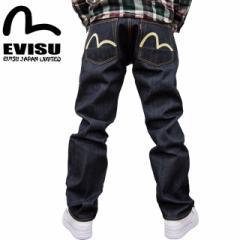 EVISU(エヴィス エビス )X WAREHOUSE(ウエアハウス) NO2素材 やや細め #2000ジーンズ ホワイトカモメ