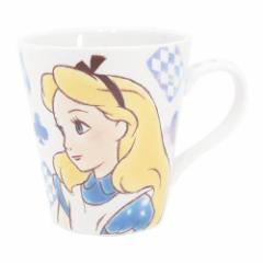 ◆ふしぎの国のアリス ファジー柄マグカップ(プレゼント、贈り物、お土産,キャラクターグッツ通販、アニメキャラ