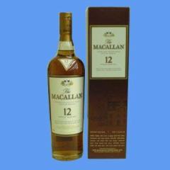スコッチ モルト ウイスキー マッカラン 12年 40° 700ml