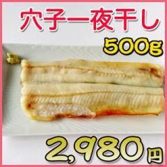 アナゴの一夜干し/500g/干物/お取り寄せ/焼き魚/おつまみ/肴/お歳暮/ギフト/父の日/