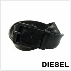 【セール 54%OFF!】DIESEL ディーゼル メンズレザーベルト B-WAVVY HIGH / X03738 PS681 ブラック