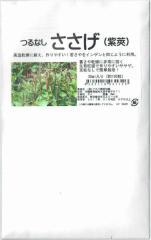 フタバ種苗 つるなしささげ(紫莢) 20ml