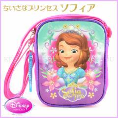 ちいさなプリンセス ソフィア ミニスクエアスリングバッグ ディズニープリンセス ピンク  バッグ 鞄 sff-8225 【Disney 子供用】 =┃