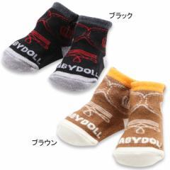 NEW ベビーソックス(トレッキング) 靴下ベビーサイズベビードール BABYDOLL 子供服 6414