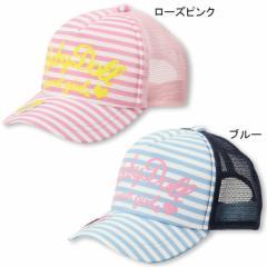 3/6NEW♪メッシュキャップ/ボーダー 雑貨 帽子 キッズ 子供用 ベビードール 子供服-9100