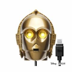 PGA LightningコネクタAC充電器2.1A 「STARWARS/スターウォーズ」 (C-3PO)