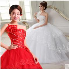 結婚式/プリンセス/二次会/ウェディング ドレス/パーティー/カラードレス/演奏会/披露宴/花嫁/司会着