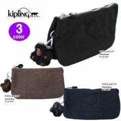 Kipling キプリング ポーチ K13265 Creativity L Basic ペンシルケース 化粧ポーチ ag-782200