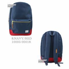 【訳あり返品不可】es-8 NAVY/RED-10005-00018背面ネイビ ハーシェル サプライ バッグ 10005 STLMNT リュック バックパック