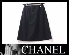 ★シャネル 01A スカート 34 ブラック★