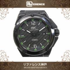 IWC インヂュニア カーボン メンズ腕時計 1000本限定 IW322404