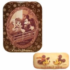 ミッキーマウス ミニーマウス 缶入りクッキー お菓子 お土産【ディズニーシー限定】