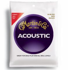 MARTIN(マーチン弦) 「M140PK3×1パック」(3セット入り)ライト・ゲージ  Martin 80/20 Bronze Light  Acoustic Guitar/M-140Pack3