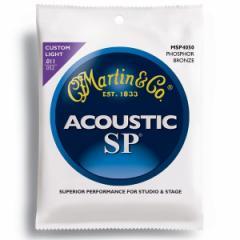 MARTIN(マーチン弦) 「MSP4050×1セット」カスタムライト・ゲージ  SP 92/8 Phosphor Bronze Custom Light  Acoustic Guitar/MSP-4050