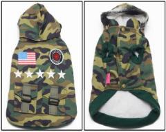 Military Best Jacket ミリタリーベスト パーカー 犬服 ペット服