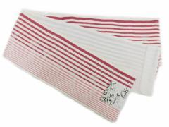 半幅帯 半巾 細帯 浴衣帯 四寸帯■リバーシブル四寸帯■白地 ローズピンク地の縞 柄 no232