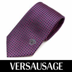 VERSACE ヴェルサーチ ネクタイ 新柄 メンズ 紳士 (39) 定価18360円 1142-0003