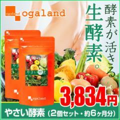 ■即納■お徳用やさい酵素(2個セット・約6ヶ月分)送料無料 サプリ 短期 ドリンク エンザイム 酵素 ダイエット 野草