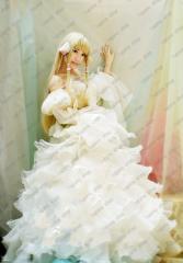 chobits ちょびっツ  (ちぃ) Chii  風 コスプレ衣装 +ウィッグセット クリスマス ハロウィン イベント仮装