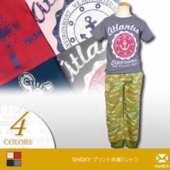 SHISKY(シスキー) プリント半袖Tシャツ [キッズ/子供服] (n23) [メール便OK] 103315