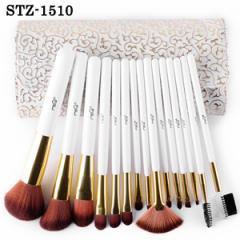 STZ-1510 15本メイクブラシセット、化粧筆セット、ブラシケース付き