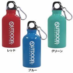 カラビナ付き【アウトドアプロダクツ アルミボトル(350ml)】水筒/マイボトル/マグボトル