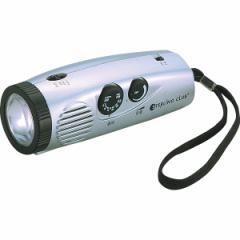 防災・非常時・緊急時に【スターリングクラブ LEDパームラジオライト】LEDライト