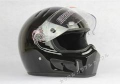 ATV-1  フルフェイス ヘルメット   S〜XXL サイズ選び可 追加シールドは一枚+500円  黒艶有り
