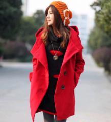 即納 フード付あったかコート/大きいサイズ/アウター/レディース/チェスターコート/コート/大きめ/防寒/冬服/オーバーサイズ