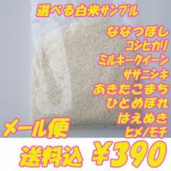 2016年産 無洗米も選べる白米 3合(450g)×1袋 【送料無料】