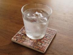 ソーク コースター 水滴を吸水するおしゃれコースター セラミック製 キッチン雑貨