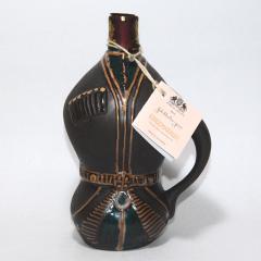 グルジア(ジョージア)ワイン キンズマラウリ ブラック陶器瓶【新デザイン】 750ml/朝日新聞