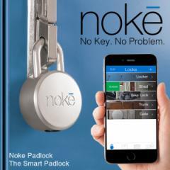 noke/ノーク FUZ-01 南京錠 Bluetooth スマホ iphone Android