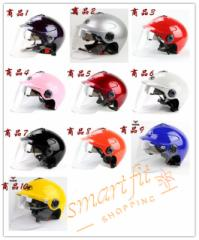 バイクヘルメット  半キャップ 男女共用ヘルメット  春、夏、秋  M-XXL  PSC付き YH-350 送料無料